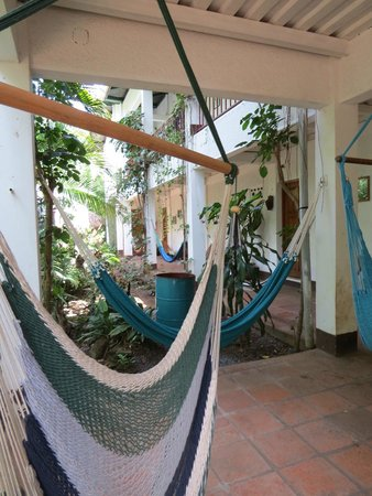 La Mariposa Spanish School and Eco Hotel: hammocks