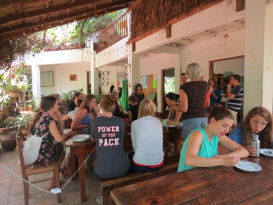 La Mariposa Spanish School and Eco Hotel: community atmosphere