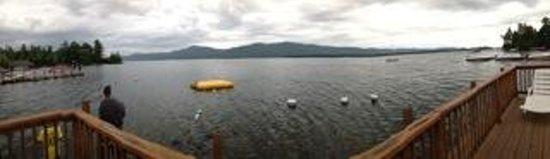 Flamingo Resort on Lake George: panoramic view