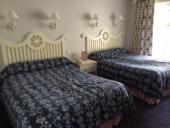 Disney's Newport Bay Club : Meu quarto
