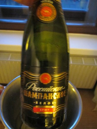 Corinthia Hotel St. Petersburg: Russian champagne - delish