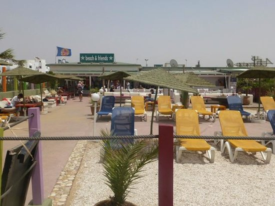 Beach and Friends: La terrasse de la plage