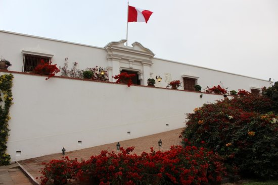 Museo Larco: The entrance