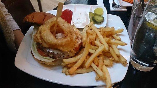 Browns Brasserie & Bar: Wid Boar Burger