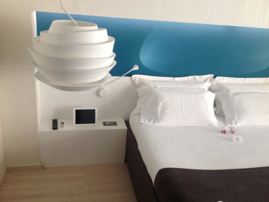 The Rooms Hotel & Residence: Letto e iPad
