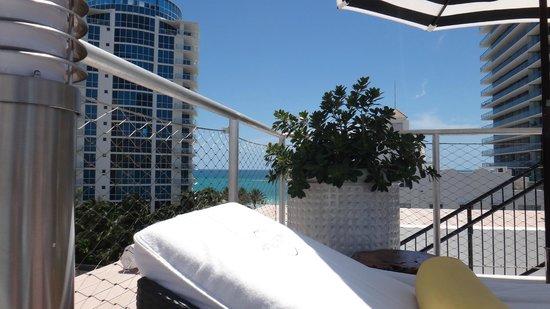 Hotel Croydon: En la terraza con las mejores vistas de Miami y solarium