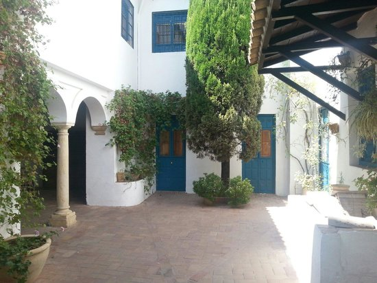 Palacio de Viana: El patio de los gatos, junto a las cocinas.