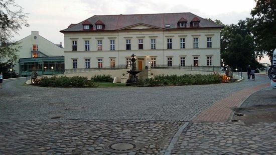Golfclub Schloss Teschow: Landhotell Schloss, framsida