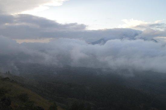 Mount Batur: Над облаками