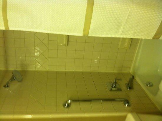 Denver Marriott Tech Center: Shower tile needs upgraded
