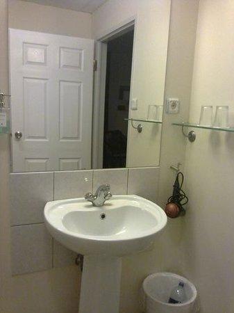 Hotel Hvolsvollur: baño en la habitación