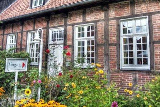Hotel Eichenhof: Eingangsbereich Hofseite