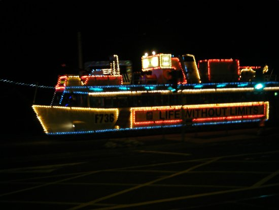 Blackpool Illuminations: tram