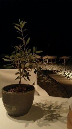 Elia Beach Restaurant: Vista dal tavolino