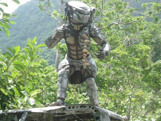 Parque Nacional Ecoturistico El Eden de Vallarta: el cazador alienigena de la pelicula