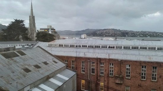 Scenic Hotel Dunedin City : View from room 415