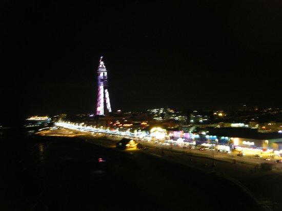 Blackpool Illuminations: view from wheel