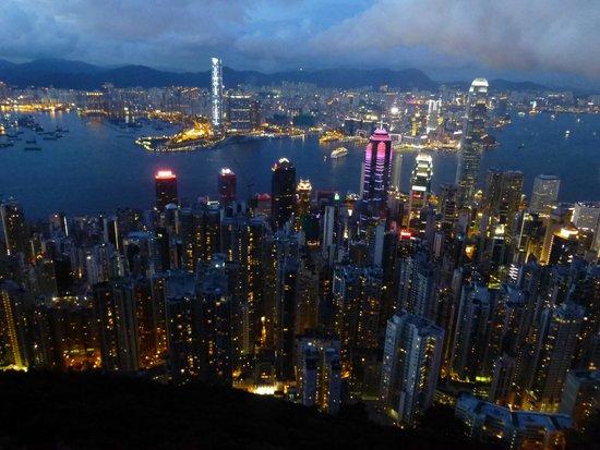 Hyatt Regency Hong Kong, Tsim Sha Tsui: Baie de HK en face Kwoloon