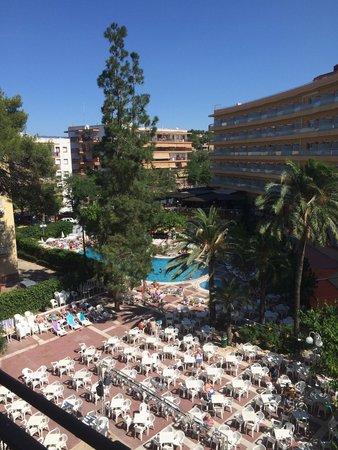 MedPlaya Hotel Calypso : View from balcony
