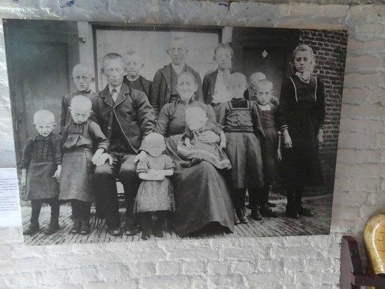 Réseau de moulins de Kinderdijk-Elshout : One of the families who lived at Kinderdijk