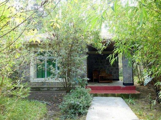 Le Bambou Gorilla Lodge: lodge