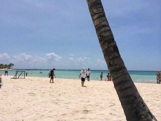 Barcelo Maya Caribe : Fútbol playa