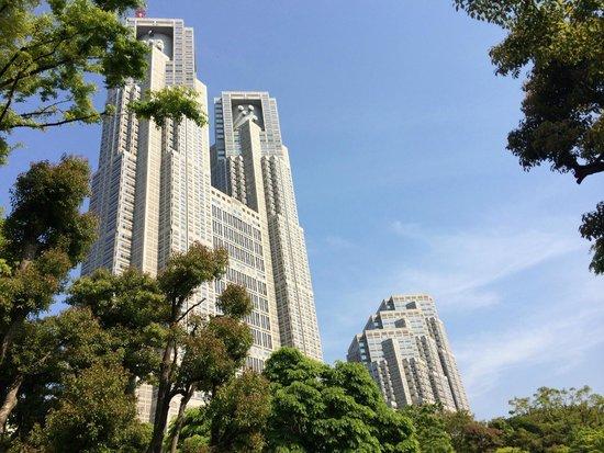 Tokyu Stay Nishishinjuku: Centro direzionale e parco nei dintorni