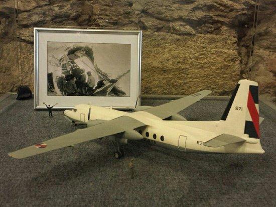 Museo Andes 1972: Réplica da aeronave 571.