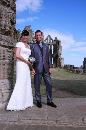 Whitby Abbey: Lovely setting for weddings