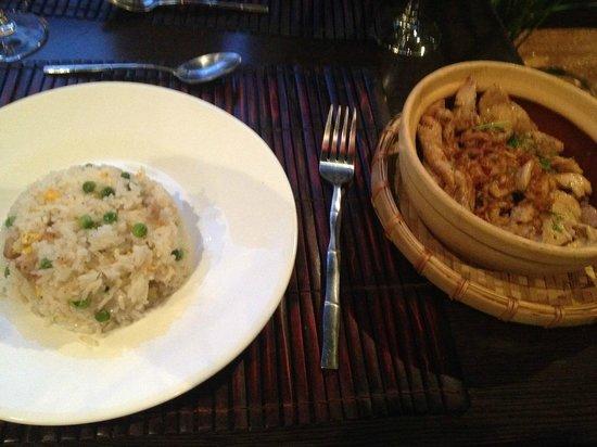 Coco Viet : poulet gingembre et riz cantoné