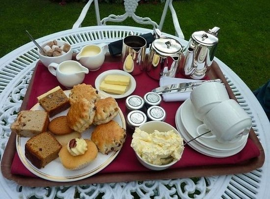 Seckford Hall: Cream Tea Anyone?