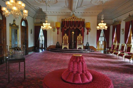 Bishop Museum reception room