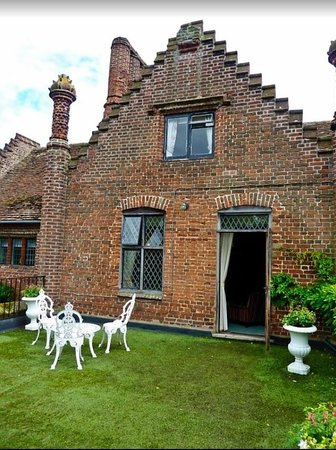 Seckford Hall: Our Superior-room with it's private balcony