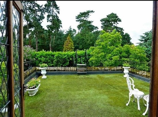 Seckford Hall: Our Superior rooms Balcony pic #2