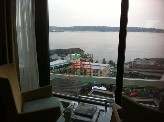 Inn at the Market : room with a view