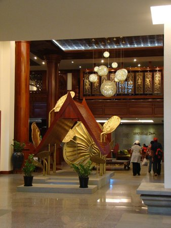 Borei Angkor Resort & Spa: Hall de entrada