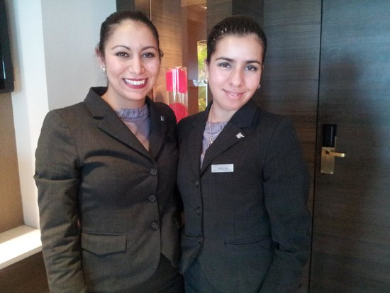 JW Marriott Hotel Lima: Rosa and Valeria at The JW Lima.  Thanks girls!