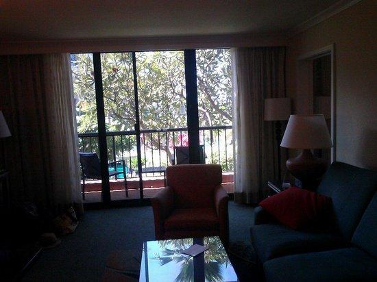 Marriott's Maui Ocean Club  - Lahaina & Napili Towers: Living room