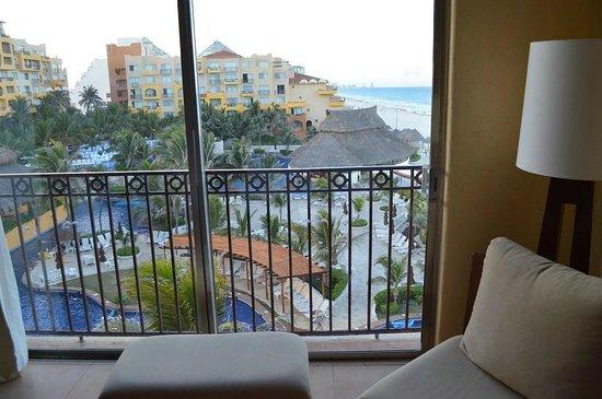 "Fiesta Americana Condesa Cancun All Inclusive: ""Ocean view"" room facing the pool area"