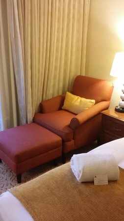 Washington Dulles Airport Marriott: Relaxing room chair