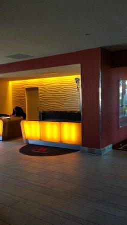 Washington Dulles Airport Marriott : Lobby area