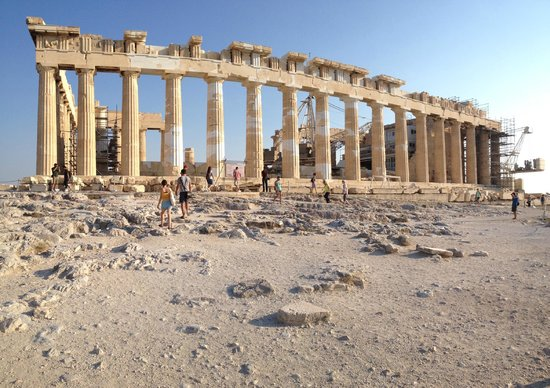 Parthenon: the main event