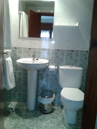 Hostal Horta Rosell : Baño - Habitación 302