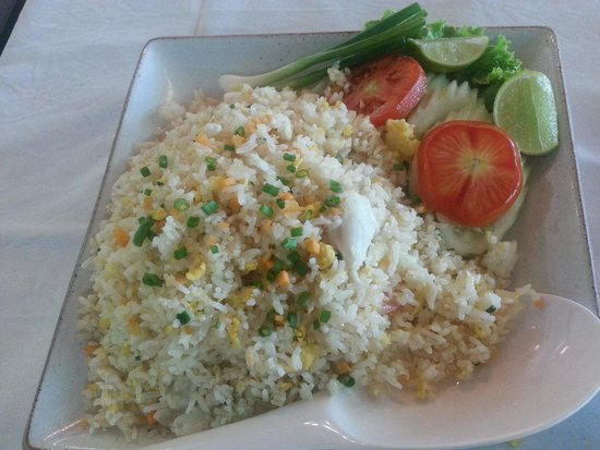 Kan Eang@Pier Restaurant : seafood fried rice