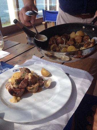 Nortada: This was an interesting dish