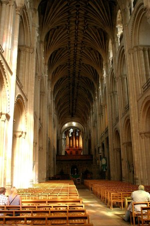 Norwich Cathedral: Inside