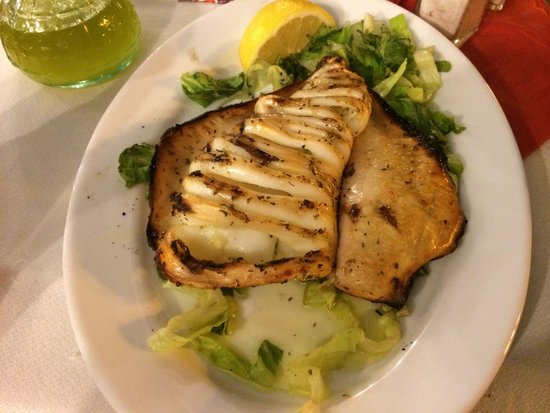 O Diasimos: Last plate- fresh calamari