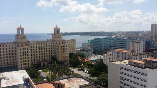 NH Capri La Habana: view from the hotel