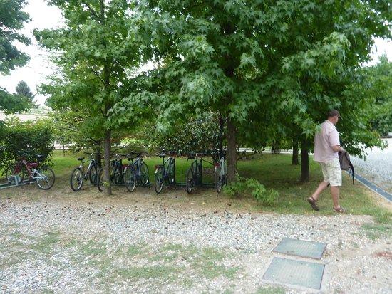 Parco Sassi Hotel : Les vélos de l'hotel