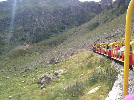 Le Train d'Artouste: vue du train